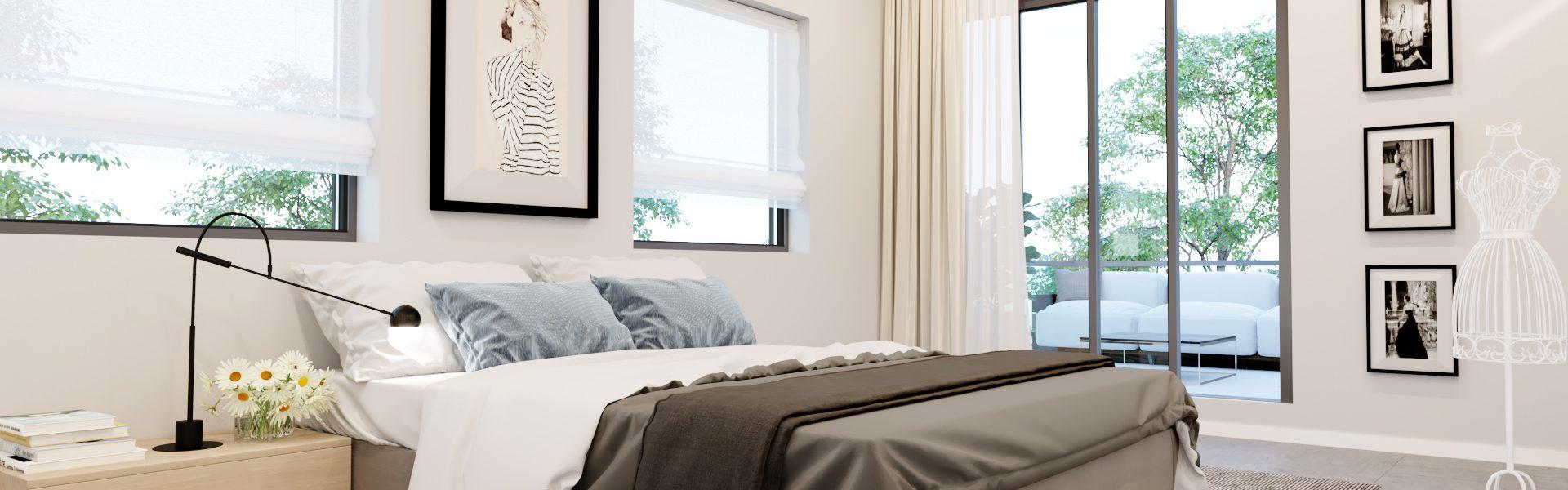 דגם רומי - חדר שינה